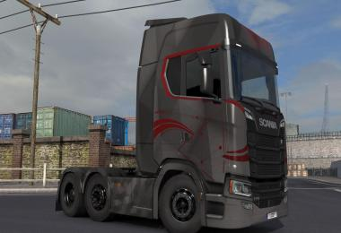 Scania S High Roof Skin by l1zzy v1.0.4