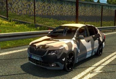Skoda Superb edit by Traian 2018
