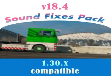 Sound Fixes Pack v18.4