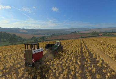 Straw to match the bales v1.0