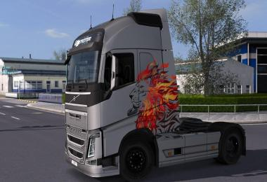 Volvo FH 2012 - I'm The King Metallic Paintjob by l1zzy