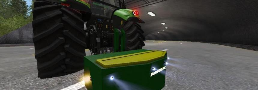 1250 KG John Deere Weight v1.0