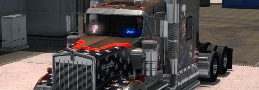 ATS Truck Brand Windshield v5.0 1.28.x 1.30.x