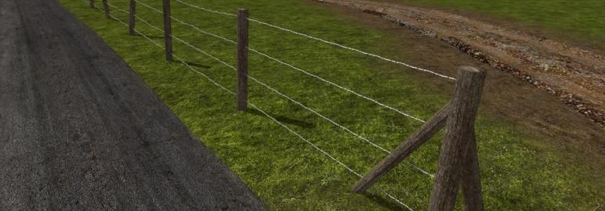 Barbed Fence Kit (Prefab) v1.0.0.0