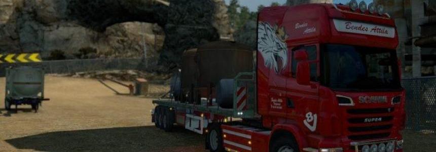 Bendes Attila RJL Scania Skin (Updated) v1.0