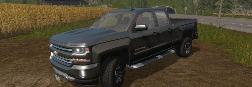 Chevrolet silverado Z71 2016 v1.0