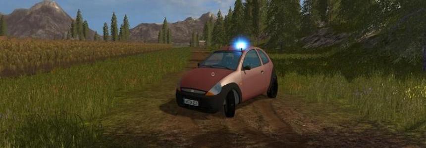 Civil Police Ford Ka v1.0