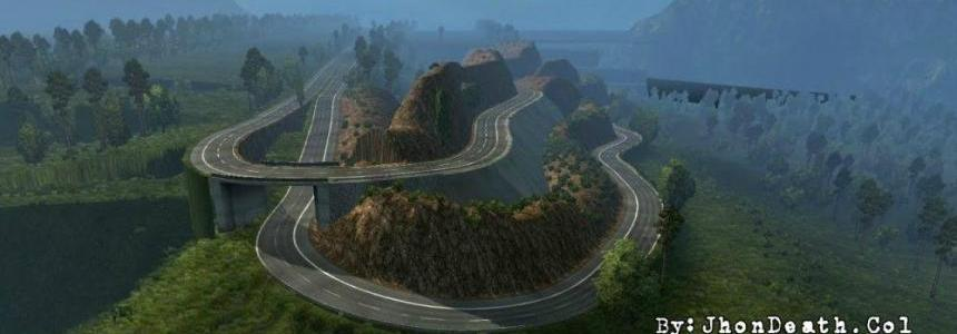 Colombia Map v3.0.1 (ETS2 1.30.x)