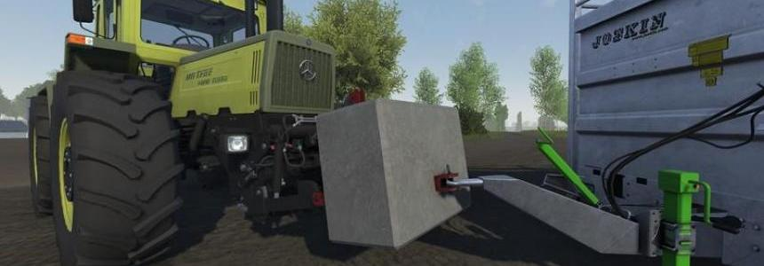 Concrete weight with tow pin v1.0