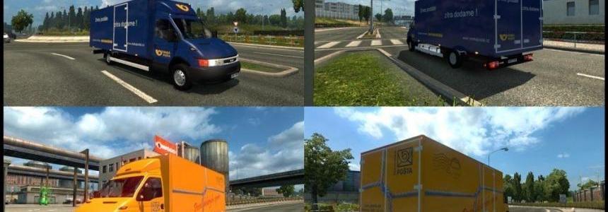 Czech and Slovak Post Traffic v1.0