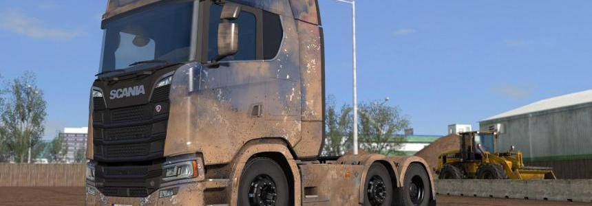 Dirty Scania S High Roof by l1zzy v1.0.1