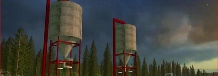 Distillers corn storage silo v1.0