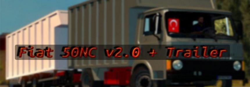 Fiat 50NC v2.0 + Trailer [KadircanOzkan]