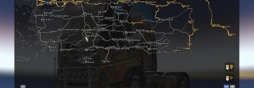 Fix for Turkey Map for Promods v2 26 1 30 - Modhub us