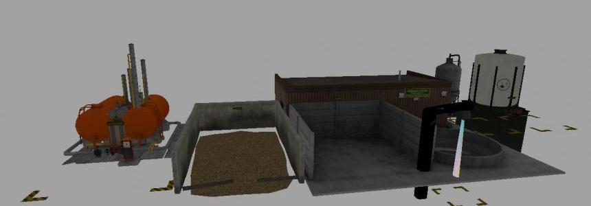FS17 Molasses Factory placeable v1.2