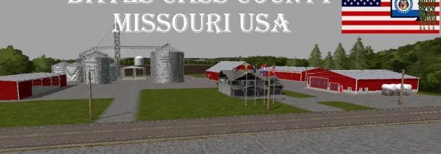 FS17 Bates Cass County USA v2.0