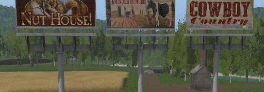 FS17 Country Billboards v1.0