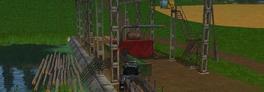 Goose neck logging trailer AutoLoad v1.0