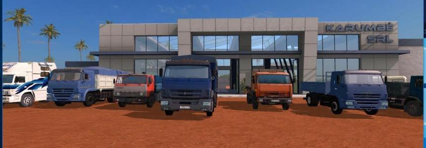 Great Pack Kamaz v1.0