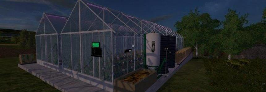 Greenhouses placeable Tomatos and Cocumber v1.0