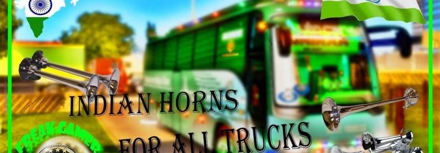 Indian Air Horns for all Trucks v1.0