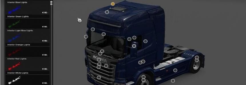 Interior Light for all Trucks v9.0 [1.30.x]