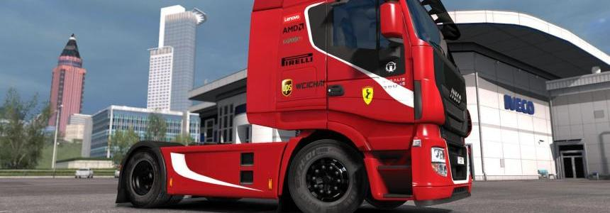 Iveco Hi-Way Scuderia Ferrari Combo Pack by l1zzy