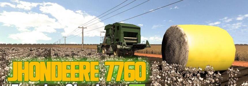 John Deere 7760 + header v1.0