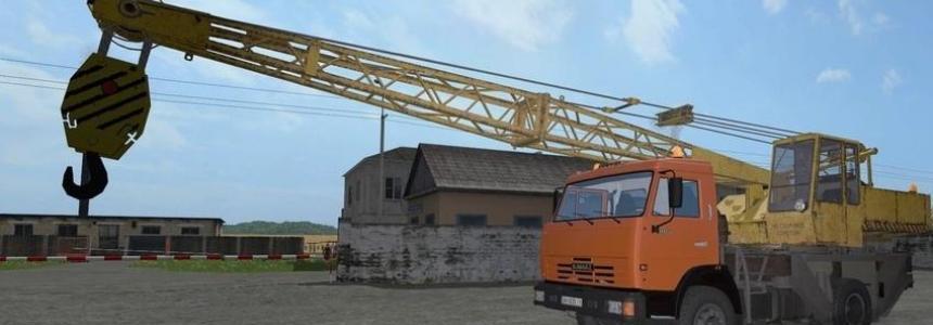 Kamaz 43225 Crane v1.0