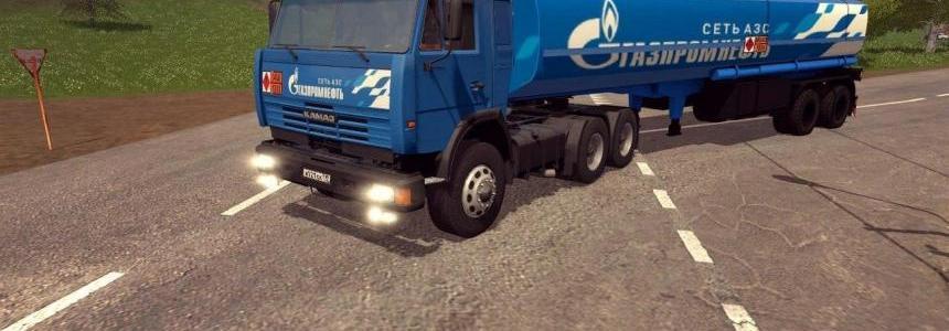 Kamaz 54115 Gazprom v1.0