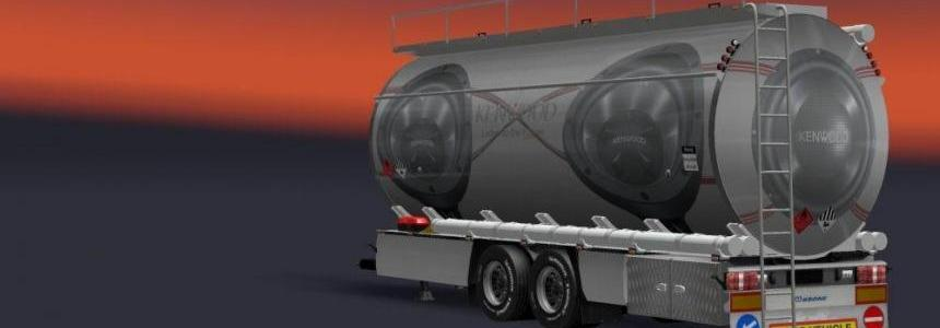 Kenwood Skin for Flemming V's BDF Tandem Truck Pack v1.0
