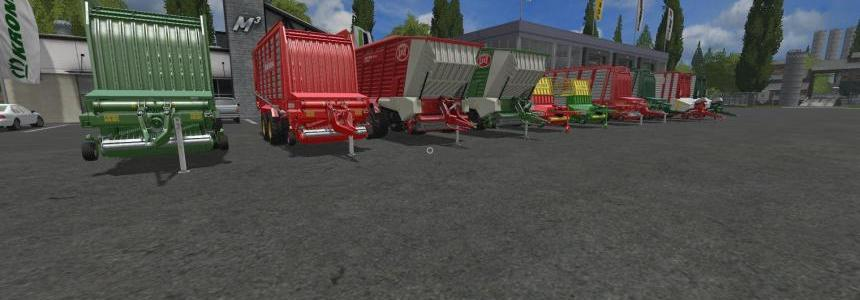 Loader Wagons by Stevie