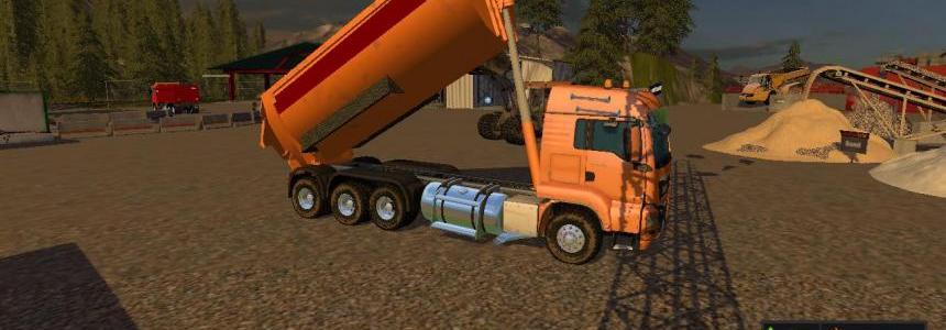 Man Dumper FS17 v1.2