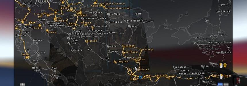 Map of Turkey for Promods v2.26 1.30