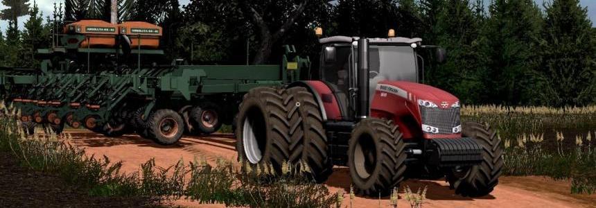 Massey Fergusson 8670 DynaVT v1.1 TECH FARM