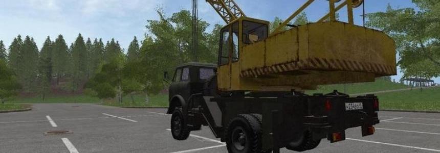 MAZ 5516 Truck Crane v1.0