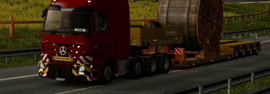 Mercedes Actros MP3 Reworked v2.1 [Schumi] 1.30.x