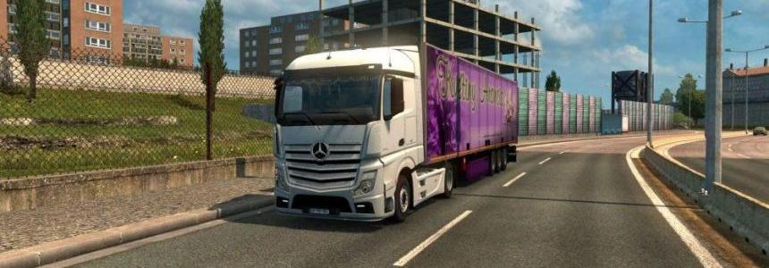Mercedes Actros MP4 Reworked v1.2 [Schumi] [1.30]