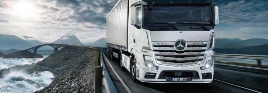 Mercedes Actros OM470 Engine Sound v1.5