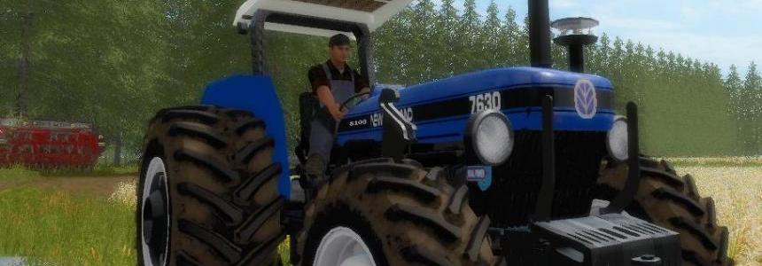 New Holland 7630 4x4 1998 v1.0