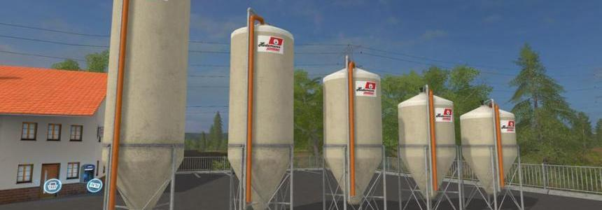 Outdoorsilo-pack Typ A Hedemann (Prefab) v1.0.0.0