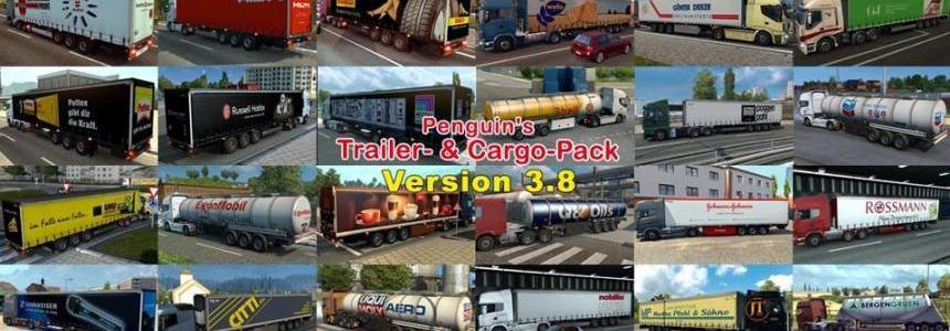 Penguins Trailer and CargoPack v3.8
