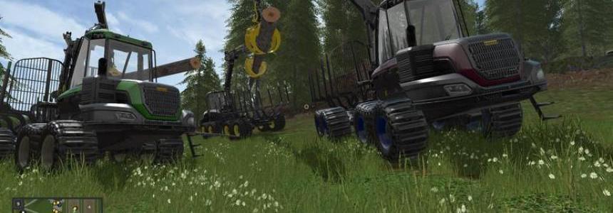 Ponsse Buffalo with loading crane without autoload v1.0