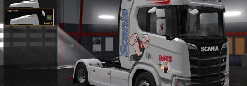 Popeye & Scania v1.0