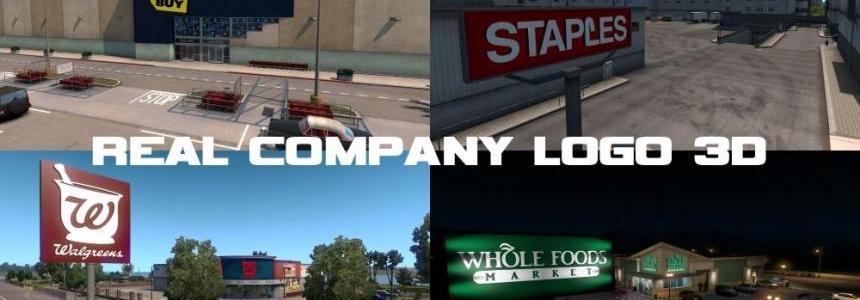 Real Company Logo 3D v1.0