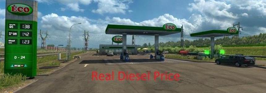 Real Diesel Prices Week 10 1.30.x