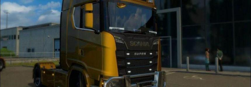 Reworked Engine and Sound For Scania Next Generation v1.0