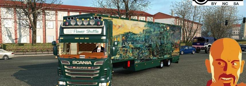 SCANIA DQF FLOWER SHUTTLE (RECOVERED) 1.28 - 1.30.x