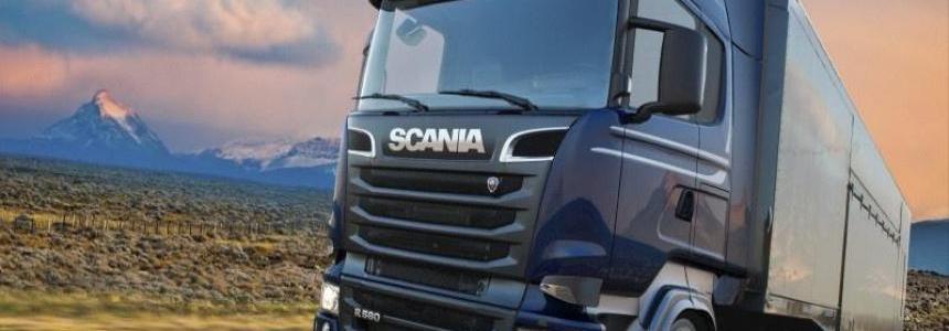 Scania Ghost V8 Crackle Version