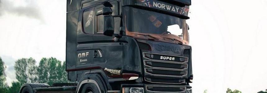 Scania Ghost V8 Open Pipe Crackle v1.5